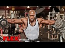 Shawn Rhoden Trains Shoulders and Triceps at Bev Francis Powerhouse Gym