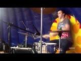 Макс Корж - Amsterdam (live cover Onetwos feat. Владислав Голубев) drumcam