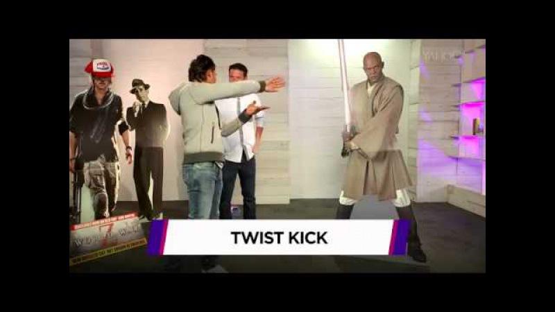 Tony Jaa: Martial-Arts Master Tony Jaa Take Down Brad Pitt Other (Cardboard) Celebs