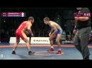 Freestyle Wrestling U23 European Championships 2016 Final 65 Nukhkadiev RUS Rashitkhanau BLR