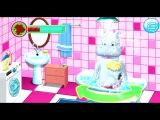 Бегемотик моется в ванной МУЛЬТИК ИГРА ДЛЯ ДЕТЕЙ.
