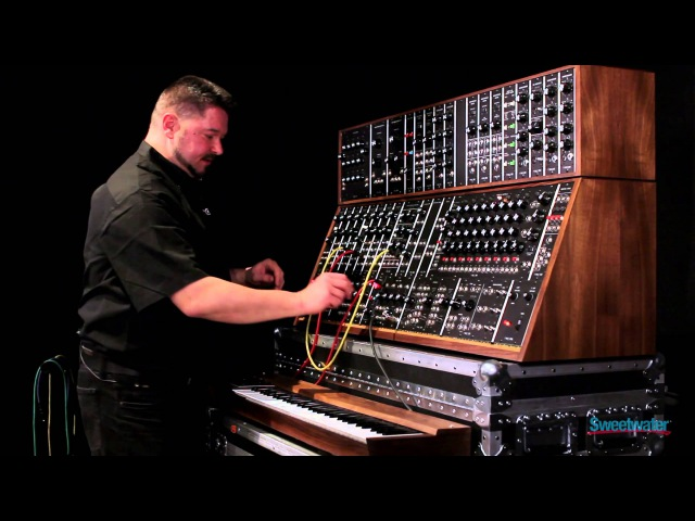 Moog System 55 Modular Synth Demo by Daniel Fisher