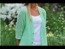 Кардиган крючком. Часть 1 Jacket crochet. Part 1