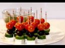 Easy canapes CANAPES IDEAS Greek canapé FOOD DECORATION