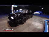 VW Golf 2 VR6 Turbo acceleration Fastes MKII in the World Record 1000hp 200mph 325km/h
