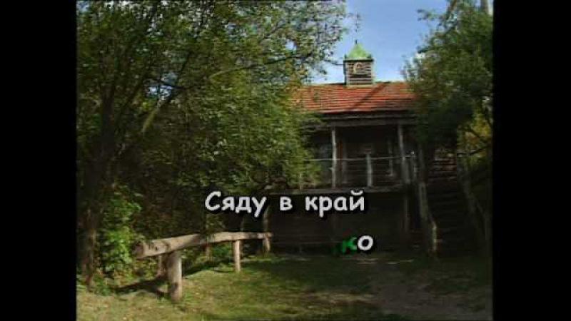 ЦВІТЕ ТЕРЕН караоке Українська народна пісня Ukrainian folk song karaoke