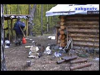 Медведь разграбил зимовьё. Где люди?