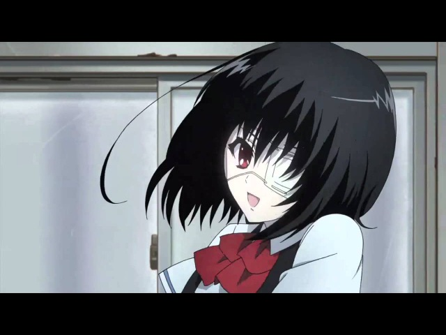 Прикольный момент из аниме Another Иная