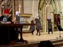 Танцы в Храме Христа Спасителя