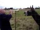 Дедушка играет на трубе а осел подпевает