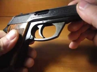 газовый пистолет маузер HSc mod. 84
