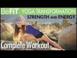 Yoga Workout for Strength & Energy: Full 50 Minute Workout- Tara Stiles & Deepak Chopra