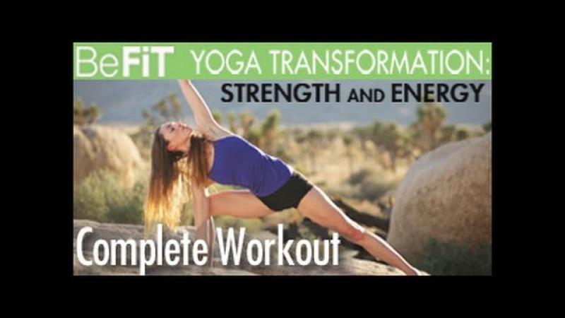 Yoga Workout for Strength Energy: Full 50 Minute Workout- Tara Stiles Deepak Chopra