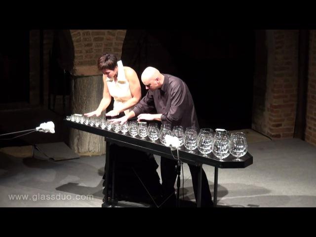 Sugar Plum Fairy by Tchaikovsky - GlassDuo LIVE (glass harp)