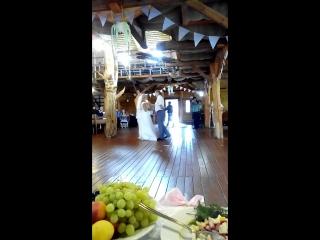 свадебный танец отца и дочери #анявова 31.07.2015