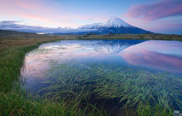 Вулкан Острый Толбачик, природный парк