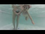 Анютка, 1год 3мес, занимается 2-й месяц. АкваМарин,центр плавания для младенцев,8-951-168-78-76