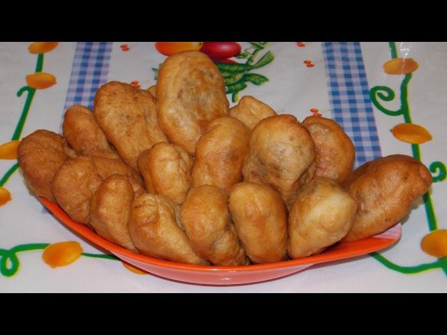 Домашние жареные пирожки с картошкой и печенкой (рецепт приготовления) » Freewka.com - Смотреть онлайн в хорощем качестве