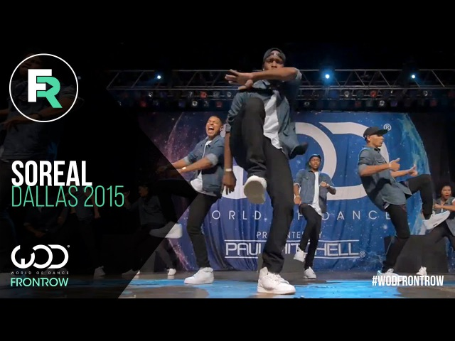 SoReal | 1st Place Adult Division | FRONTROW | World of Dance Dallas 2015 WODDALLAS2015