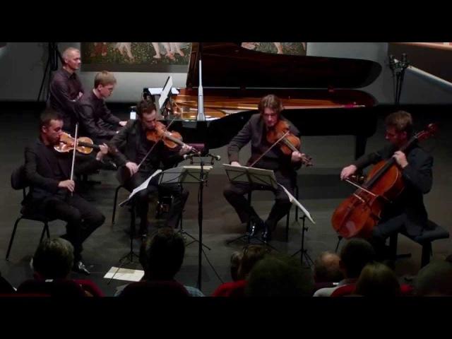 F. Couperin - Tic-Toc-Choc. Quatuor Ebène & V. Gryaznov