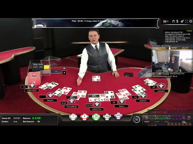 $5000 BET real money online gambling Did he win or lose