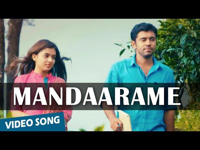 Official Mandaarame Video Song Ohm Shanthi Oshaana Nivin Pauly Nazriya Nazim