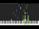Kiss the Rain - Yiruma [Piano Tutorial] (Synthesia)