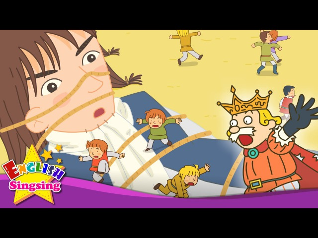 Gulliver's Travels - What's this? Nose Mouth (this that) - English story for Kids