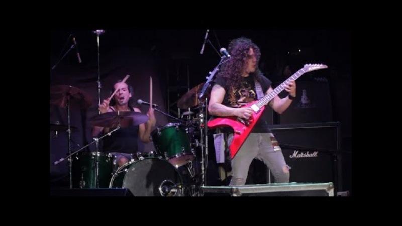 Charlie Parra - Speed F*cks Drum solo LIVE (Charlie en el Parque 2015 Bluray)