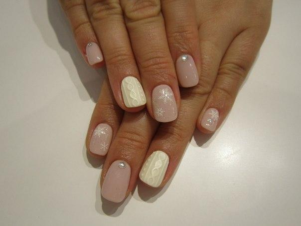 Вязание на ногти фото дизайн