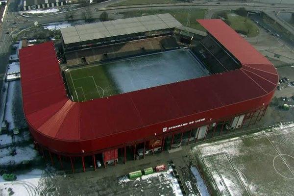 "Стадион ""Морис Дюфран"" (Stade Maurice Dufrasne), Льеж"