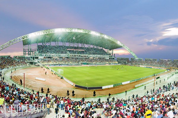 """Олимпийский стадион """"Хосе Антонио Ансоатеги"""" (Estadio Olímpico General José Antonio Anzoátegui), Пуэрто-ла-Крус"""