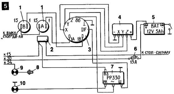 3 — генератор;