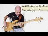 Universal Bass Licks #3 (Fingers/Slap) Dorian mode // уроки игры на бас гитаре