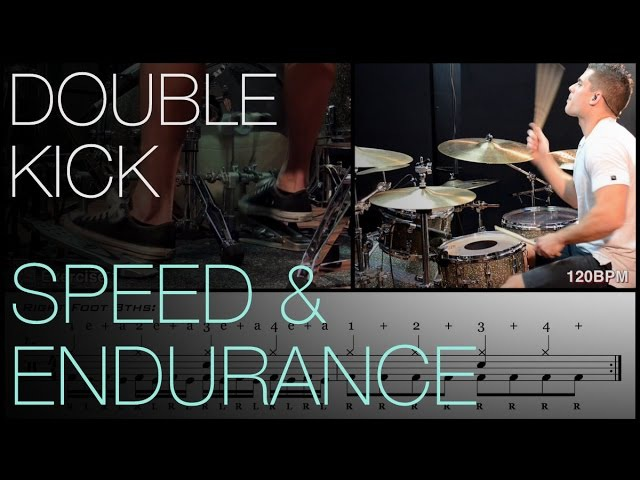 Double Kick Speed and Endurance Lesson by Troy Wright