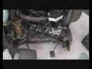 Инвалидное кресло из автомобиля после пьяного ДТП, старт мирового арт-проекта
