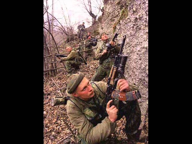 Армейски песни - Чечня,Дагестан