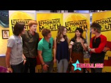 Lemonade Mouth Cast On Fans & the Flash Mob Dance