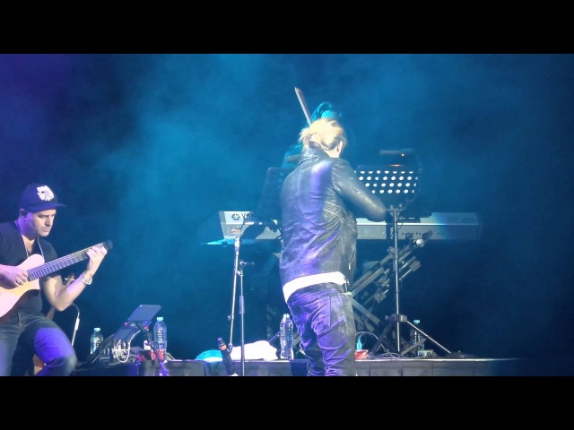 David Garrett - Auditorio Nacional 2016 (Adventure Island) parte 3 HD