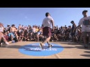 Top9Crew Robin and Tim1 vs Beatmaster and Mister P toprock final Yalta Summer Jam 2013 back 2 back
