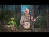 Steve Martin and Kermit the Frog in
