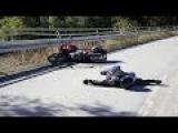 Самые зверские Аварии с Летальным исходом на Мотоцыклах HD Full