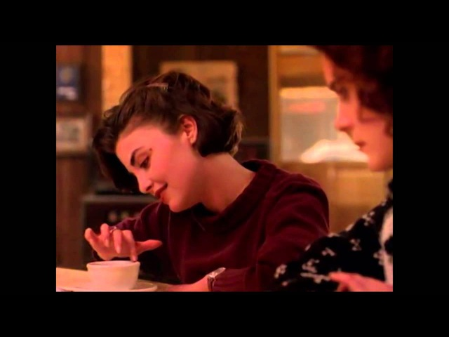 Twin Peaks - Audrey And Donna At The RR Diner - Audrey's Dance Theme