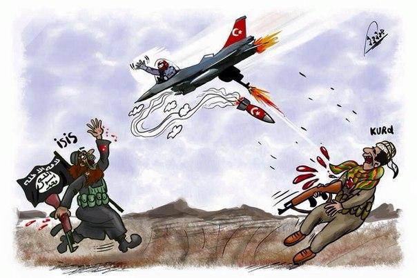 Власти Турции под эгидой АТО развязали гражданскую войну с собственным народом