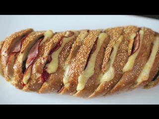 Хлеб-пицца [eat easy]