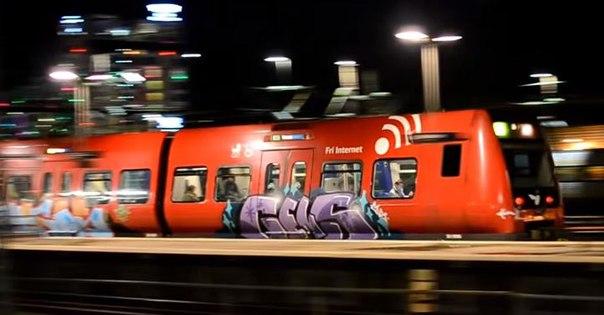 Copenhage graffiti