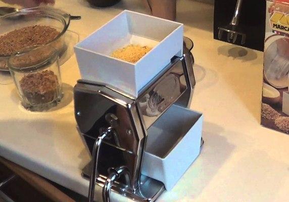 Как сделать млын в домашних условиях видео