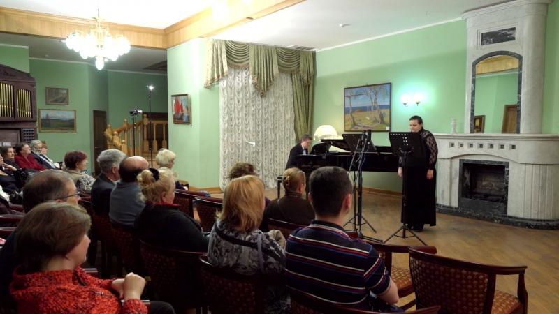 Ирина Комаровская И.С. Бах Quia respexit партия фортепиано Владимир Ворабьев