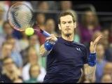 Andy Murray vs John Isner Highlights HD Davis Cup 2015