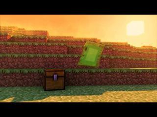 Minecraft Slime Rig Test - Blender Animation - Fan Boy